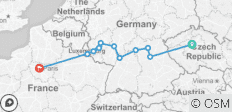 Cities of Light Bamberg to Trier - 11 destinations