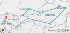 Country Roads of Bavaria, Switzerland & Austria (Preview 2020) - 16 destinations