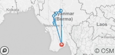 Mystical Irrawaddy 2021/2022 (Start Yangon, End Yangon, 14 Days) (13 destinations) - 13 destinations
