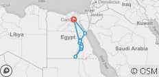 Cairo, Nile Cruise & Red Sea - 9 Days - 16 destinations