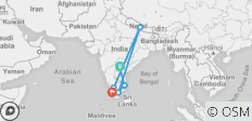 Real South India (13 Days) (from Hyderabad to Kochi (Cochin)) - 6 destinations