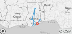 Let\'s Explore Ghana - 7 destinations