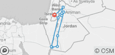 Highlights of Jordan (with Petra & Wadi Rum) - 3 Days - 13 destinations