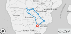 Real Southern Africa (17 Days) - 12 destinations