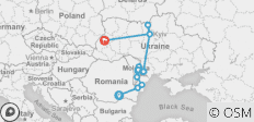 Highlights of Romania, Moldova & Ukraine - 15 destinations