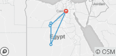 6 Days Cairo and Oasis Desert Adventure - 5 destinations