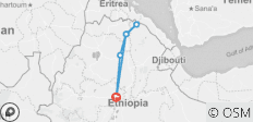 All Inclusive 7 Days Lalibela and The Danakil Depression, Dallol, Eartal\'e Volcano From Addis Ababa, and Ends in Addis Ababa... - 6 destinations
