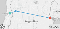 Chile & Argentina (from Santiago to Buenos Aires) - 3 destinations