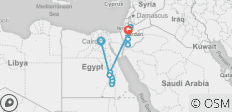 Journey Through Egypt and Jordan (13 destinations) - 13 destinations