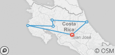 Essential Costa Rica with extension to Guanacaste, Tamarindo Beach & San José City - 6 destinations