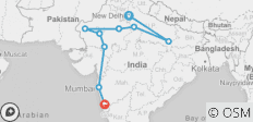 18 Day Ultimate India Tour - 10 destinations