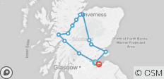 2-Day Loch Ness, Glencoe, Glenfinnan Viaduct & St Andrews Tour - 14 destinations