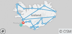 Iceland Grand Discovery - 42 destinations