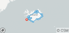 Around Iceland - 34 destinations