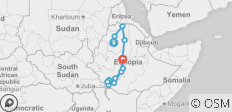 15 Days- North & South Ethiopia - 12 destinations