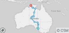 Central Australian Discovery (2020) - 15 destinations