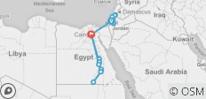 Israel & Ancient Egypt River Cruise - 16 destinations