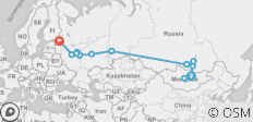 Trans Mongolian Explorer (from Ulaanbaatar to St Petersburg) - 13 destinations