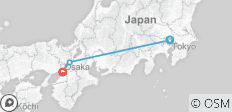 Japan in One Week (8 Days) - 3 destinations
