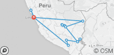 Adventure Peru - 17 destinations