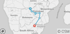 6 Days 5 Nights Best of Zimbabwe 2019 (Comfort) - 8 destinations