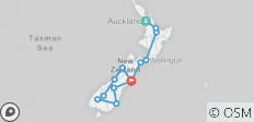 New Zealand Uncovered - 13 destinations
