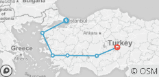 7-Day Classic Tour from Istanbul to Gallipoli, Troy, Ephesus, Pamukkale and Cappadocia - 6 destinations