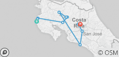 Costa Rica: See & Do it ALL in 11 Days, 1st Class Traveling - 10 destinations
