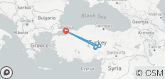 Istanbul and Cappadocia 6 Days with 2 flights - 9 destinations