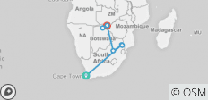 Southern Africa Discovery 11 Days (7 destinations) - 7 destinations