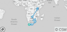 Ultimate African Expedition - 17 destinations