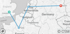 London To Berlin By Train - 4 destinations