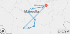 Mongolia Loop Tour - 10 destinations