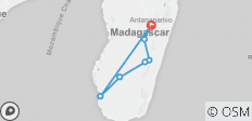 Cultural and natural wealth of Madagascar - 7 destinations