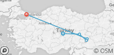 Turkey Backroads - 5 destinations