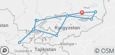 Essential Silk Road - 11 destinations
