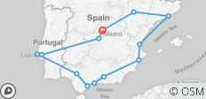Day Coach Tour: Spain and Portugal - 9 Day - 13 destinations
