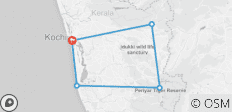 Spices And Scents Of Kerala God's Own Country - 6 Days/ 5 Nights - 5 destinations