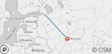 The best of St. Petersburg and Moscow in 7 days (Guaranteed departure) - 2 destinations