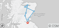 3 Day Speyside Whisky Tour - 7 destinations