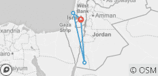 Israel & Jordan Explorer 7D/6N (from Jerusalem/Tel Aviv) - 4 destinations