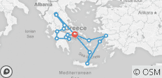 Best of Greece with 3 Day Cruise (17 destinations) - 17 destinations