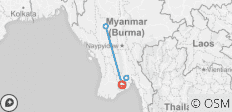 Myanmar Sampler - 5 Days - 5 destinations