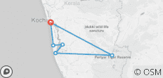 Taste of Kerala - 9 Days - 6 destinations