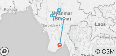 Myanmar Highlight 6 days 5 nights - 4 destinations