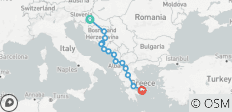 Balkan dreams end Greece - 14 destinations