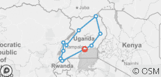 16 Days Best of Uganda and Gorillas - 11 destinations
