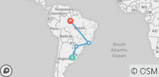 Southamerican Cities and Jungle, From Buenos Aires to Manaus or Viceversa - 15 days - 4 destinations