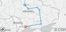 Central Ukraine - 6 destinations