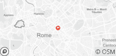 Rome Classic Itinerary + Food Tasting Experiences - 1 destination